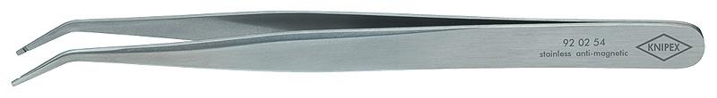 Pinceta 120mm kriva špic anti-magnetična za SMD KNIPEX
